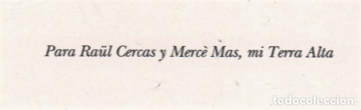 Libros: JAVIER CERCAS INDEPENDECIA TERRA ALTA II ED TUSQUETS 2021 4ª EDICIÓN COLECCIÓN ANDANZAS Nº 983 FAJA - Foto 6 - 289241978