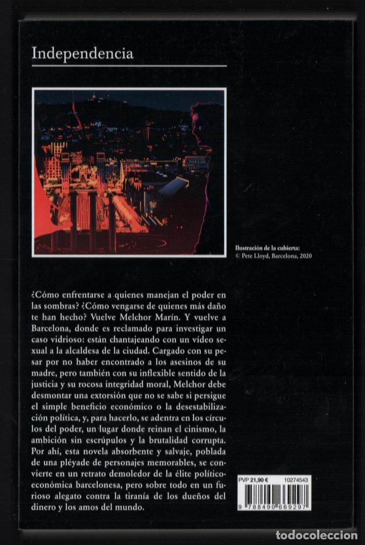 Libros: JAVIER CERCAS INDEPENDECIA TERRA ALTA II ED TUSQUETS 2021 4ª EDICIÓN COLECCIÓN ANDANZAS Nº 983 FAJA - Foto 8 - 289241978