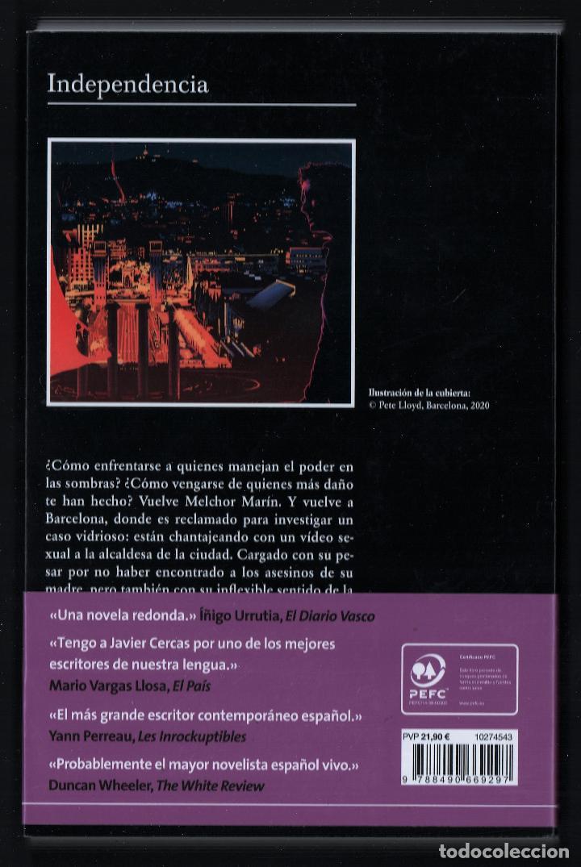 Libros: JAVIER CERCAS INDEPENDECIA TERRA ALTA II ED TUSQUETS 2021 4ª EDICIÓN COLECCIÓN ANDANZAS Nº 983 FAJA - Foto 11 - 289241978