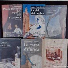 Libros: 11 LIBROS ARTURO PÉREZ REVERTE INCLUYE HOMBRES BUENOS. Lote 294050763