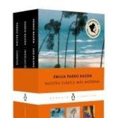 Libros: EMILIA PARDO BAZÁN (PACK QUE INCLUYE: CUENTOS   LOS PAZOS DE ULLOA   INSOLACIÓN). Lote 294856398