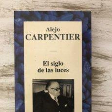 """Libros: LIBRO """"EL SIGLO DE LAS LUCES"""" DE ALEJO CARPENTIER. Lote 294966483"""