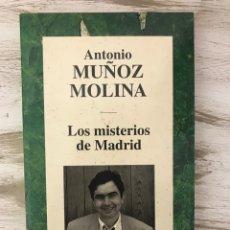 """Libros: LIBRO """"LOS MISTERIOS DE MADRID"""" DE ANTONIO MUÑOZ MOLINA. Lote 294967053"""