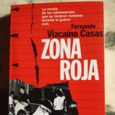 Libros: ZONA ROJA. Lote 295422588