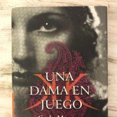 """Libros: LIBRO """"UNA DAMA EN JUEGO DE CARLA MONTERO MANGLANO. Lote 295750603"""