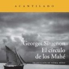 Libros: EL CÍRCULO DE LOS MAHÉ. Lote 296599553