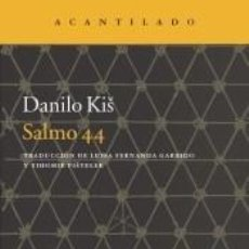 Libros: SALMO 44. Lote 296599568