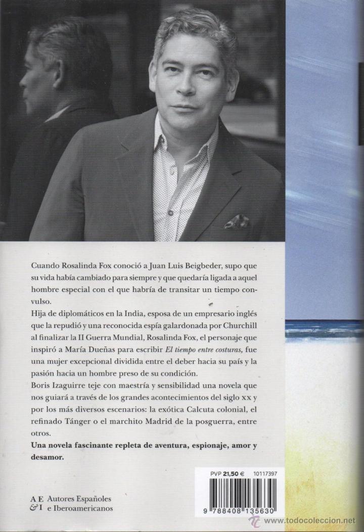 Libros: UN JARDIN AL NORTE de BORIS IZAGUIRRE - PLANETA, 2014 - Foto 2 - 220859552