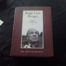 Libros: JORGE LUIS BORGES OBRAS COMPLETAS TOMO 1 RBA INSTITUTO CERVANTES. Lote 61006802