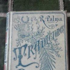 Libros: TRADICIONES PERUANAS.RICARDO PALMA.1894.. Lote 100023063