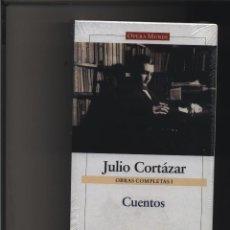 Libros: OBRAS COMPLETAS I. CUENTOS. CORTÁZAR, JULIO GALAXIA GASTOS DE ENVIO GRATIS. Lote 119161174