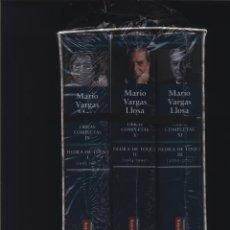Libros: PIEDRA DE TOQUE I, II Y III - OBRA PERIODÍSTICA OBRAS COMPLETAS. VOL. IX, X, XI VARGAS LLOSA, MARIO. Lote 116582571