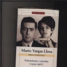 Libros: OBRAS COMPLETAS I. NARRACIONES Y NOVELAS (1959-1967). VARGAS LLOSA, MARIO GALAXIA GASTOS GRATIS. Lote 116583623