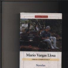 Libros: OBRAS COMPLETAS V. NOVELAS (2000-2006) MARIO VARGAS LLOSA GASTOS DE ENVIO GRATIS GALAXIA. Lote 116583799