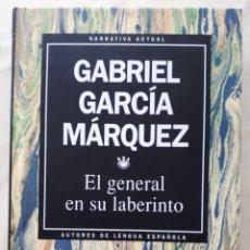 Libros: LIBRO EL GENERAL EN SU LABERINTO. Lote 133661109
