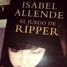 Libros: EL JUEGO DE RIPPER. Lote 137228652