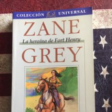 Libros: LA HEROÍNA DE FORT HENRY. Lote 140567120