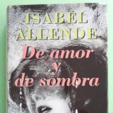 Libros: LIBRO DE AMOR Y DE SOMBRA. Lote 141202910