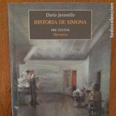 Libros: HISTORIA DE SIMONA - DARÍO JARAMILLO. Lote 162994822