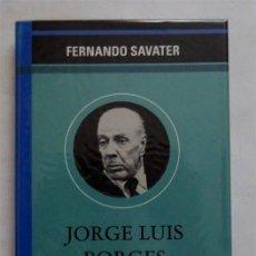 Libros: JORGE LUIS BORGES, LA IRONÍA METAFÍSICA – FERNANDO SAVATER. Lote 166615758