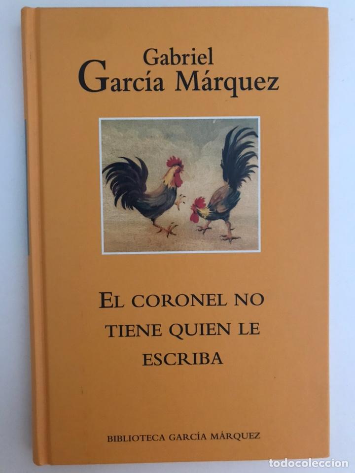 EL CORONEL NO TIENE QUIEN LE ESCRIBA GABRIEL GARCÍA MÁRQUEZ (Libros Nuevos - Narrativa - Literatura Hispanoamericana)