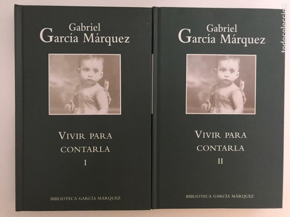 VIVIR PARA CONTARLA 2 VOLÚMENES GABRIEL GARCÍA MÁRQUEZ (Libros Nuevos - Narrativa - Literatura Hispanoamericana)