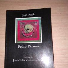 Libros: PEDRO PÁRAMO. JUAN RULFO. Lote 171152848
