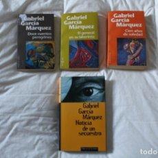 Libros: LOTE LIBROS GABRIEL GARCÍA MÁRQUEZ. LITERATURA COLOMBIA.. Lote 174303408