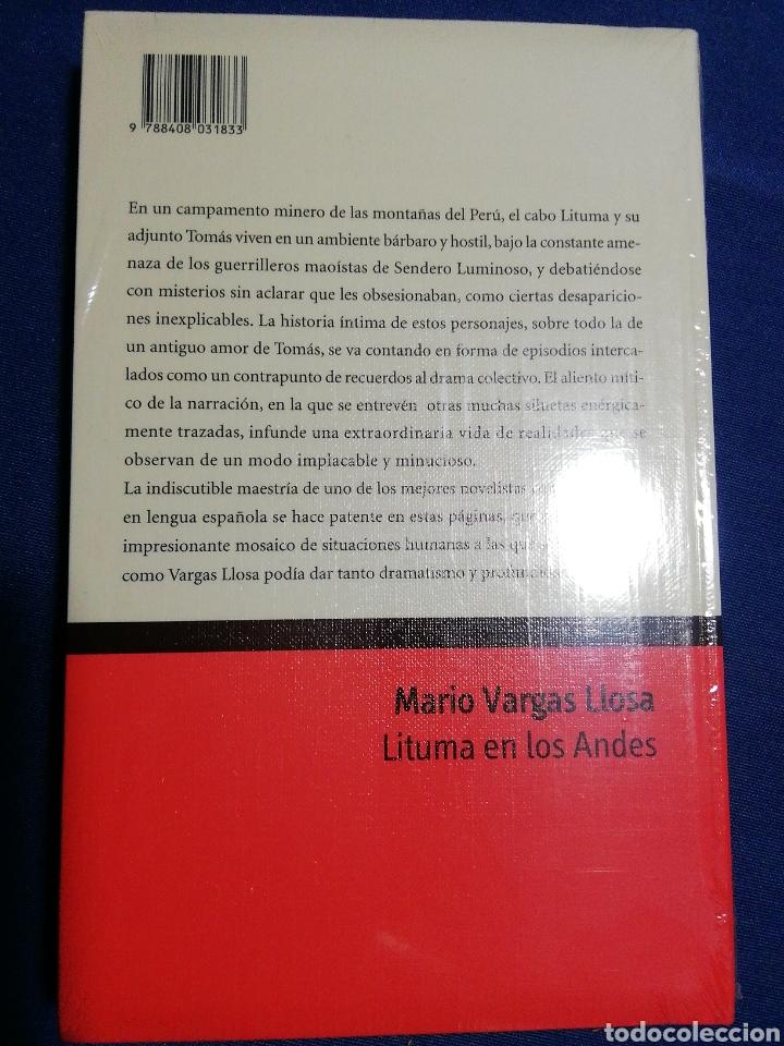 Libros: LITUMA EN LOS ANDES. MARIO VARGAS LLOSA. NUEVO - Foto 2 - 179095446