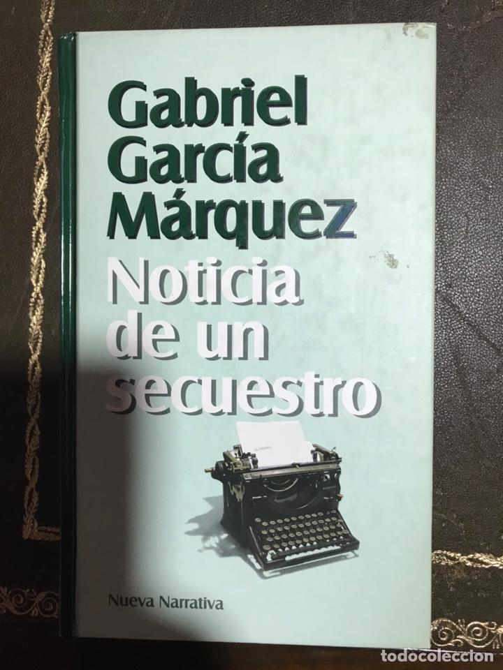 NOTICIA DE UN SECUESTRO. GABRIEL GARCÍA MÁRQUEZ. (Libros Nuevos - Narrativa - Literatura Hispanoamericana)