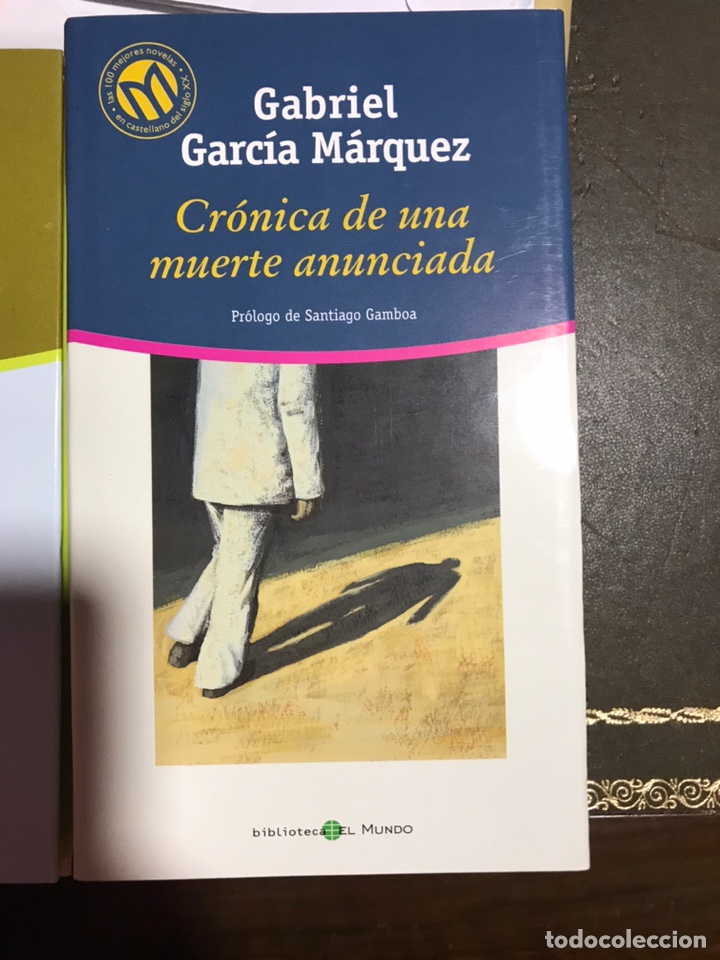 CRÓNICA DE UNA MUERTE ANUNCIADA. GABRIEL GARCÍA MÁRQUEZ (Libros Nuevos - Narrativa - Literatura Hispanoamericana)