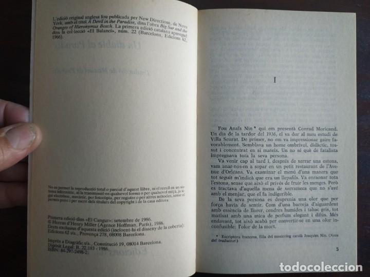 Libros: Un diable al paradis de Henry Miller. Tras su paso por el City College de Nueva York - Foto 2 - 183019342