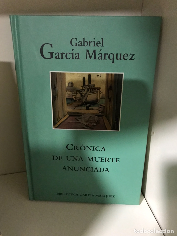 CRÓNICA DE UNA MUERTE ANUNCIADA GARCÍA MÁRQUEZ (Libros Nuevos - Narrativa - Literatura Hispanoamericana)
