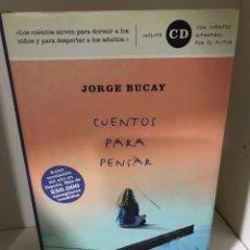 Libros: JORGE BUCAY CUENTOS PARA PENSAR. Lote 183695665