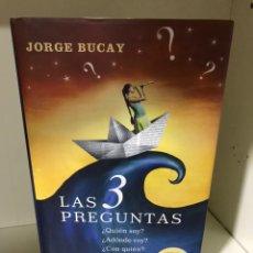 Libros: JORGE BUCAY LAS 3 PREGUNTAS. Lote 183695830