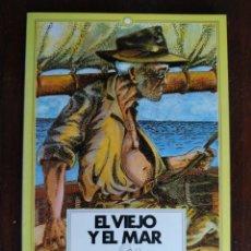 Libros: EL VIEJO Y EL MAR DE ES UNA NOVELA ESCRITA POR ERNEST HEMINGWAY EN 1951 EN CUBA Y PUBLICADA EN 1952. Lote 184868028