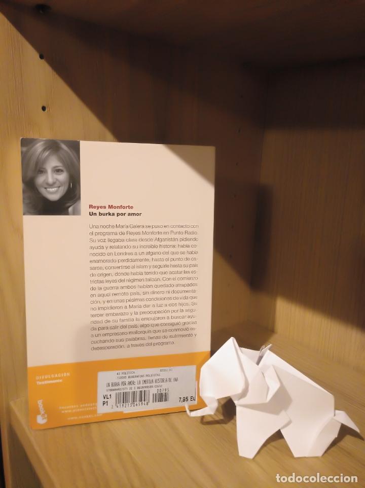 Libros: Un burka por amor - Reyes Monforte - Debolsillo - Foto 2 - 185706677