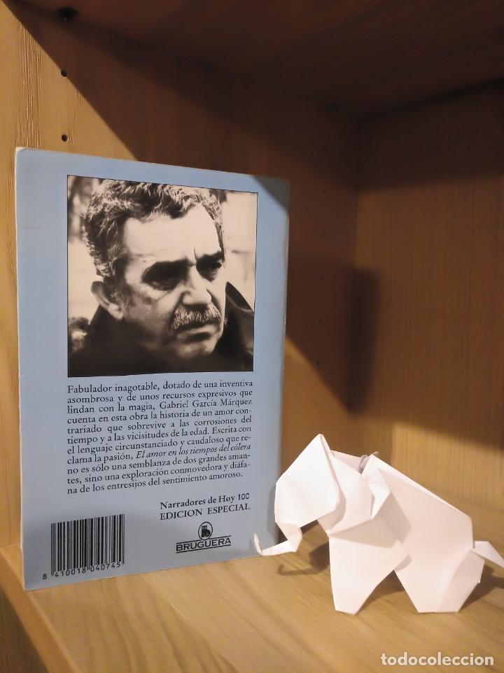 Libros: El amor en los tiempos del cólera - Gabriel García Márquez - Bruguera - Foto 2 - 185706690