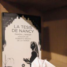 Libros: LA TESIS DE NANCY - RAMÓN J. SENDER - BAMBÚ. Lote 185706732