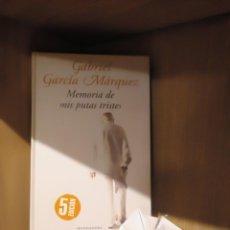 Libros: MEMORIA DE MIS PUTAS TRISTES - GABRIEL GARCÍA MÁRQUEZ - MONDADORI. Lote 185706752