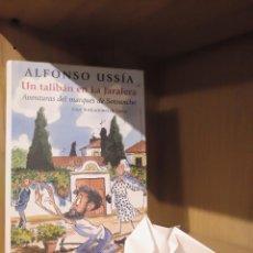 Libros: UN TALIBÁN EN LA JARALERA - ALFONSO USSÍA - CÍRCULO DE LECTORES. Lote 185706802