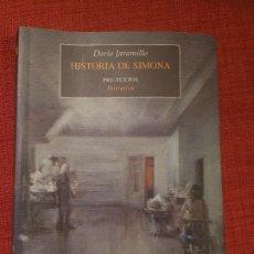 Libros: HISTORIA DE SIMONA - DARÍO JARAMILLO. Lote 189839545