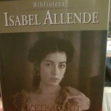 Libros: ISABEL ALLENDE. RETRATO EN SEPIA. Lote 190032193
