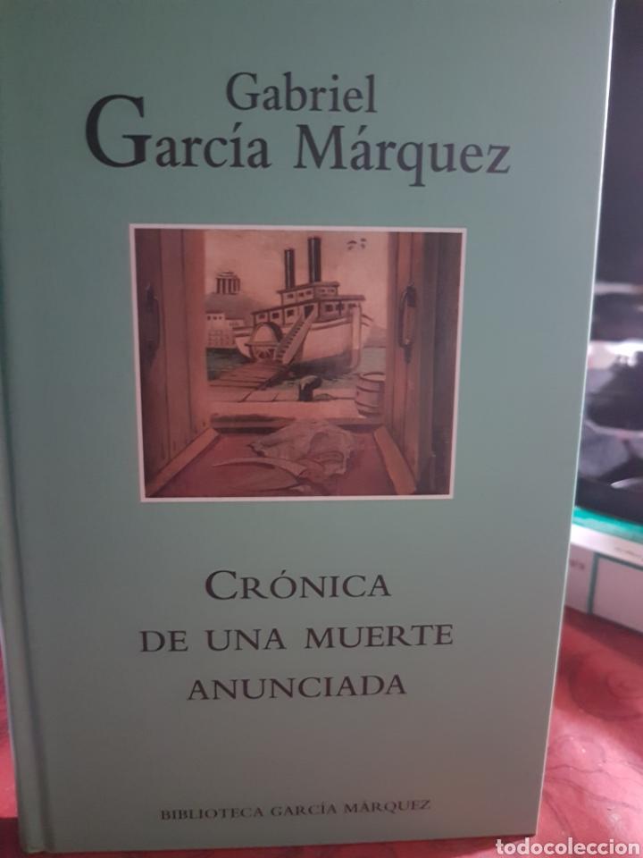CRÓNICA DE UNA MUERTE ANUNCIADA, DE GARCÍA MÁRQUEZ (Libros Nuevos - Narrativa - Literatura Hispanoamericana)