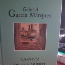 Libros: CRÓNICA DE UNA MUERTE ANUNCIADA, DE GARCÍA MÁRQUEZ. Lote 190040671