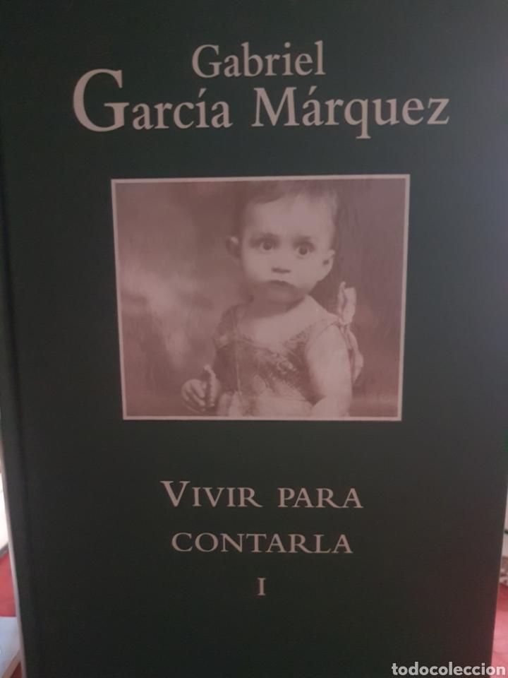 Libros: Vivir para contarla, de Gabriel García Márquez, en dos tomos - Foto 2 - 190041881
