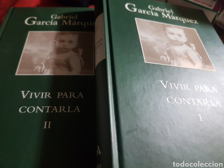 VIVIR PARA CONTARLA, DE GABRIEL GARCÍA MÁRQUEZ, EN DOS TOMOS (Libros Nuevos - Narrativa - Literatura Hispanoamericana)