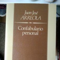 Libros: CONFABULARIO PERSONAL - JUAN JOSÉ ARREOLA (NUEVO). Lote 200311217