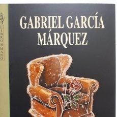 Libros: DIATRIBA DE AMOR CONTRA UN HOMBRE SENTADO. DE GABRIEL GARCÍA MÁRQUEZ.. Lote 201254651