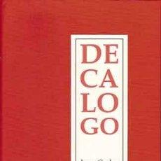 Libros: ONETTI, JUAN CARLOS - DECÁLOGO - PRIMERA EDICIÓN. Lote 201918717
